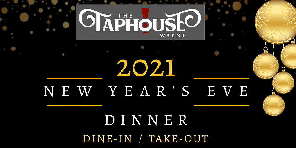 New Years Eve Dinner @ The Taphouse
