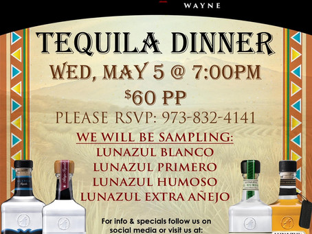 Upcoming Dinner Events!
