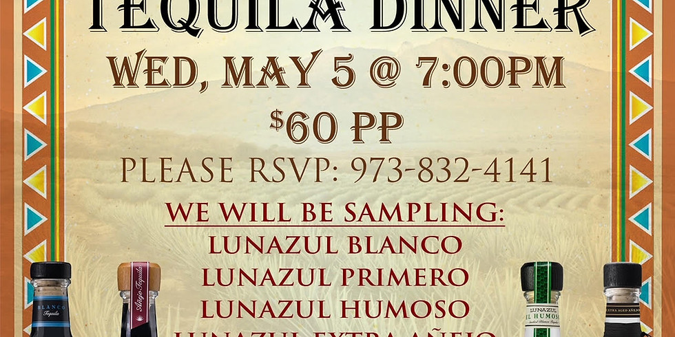 Tequila Dinner @ The Taphouse