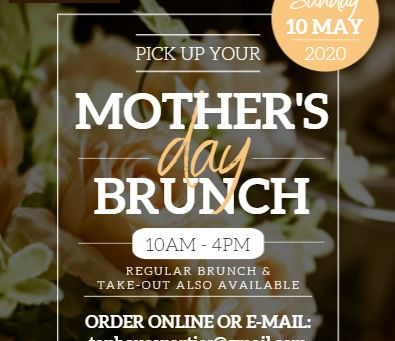 Mother's Day Brunch & Dinner Specials Available