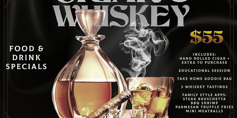 Whiskey & Cigar Happy Hour