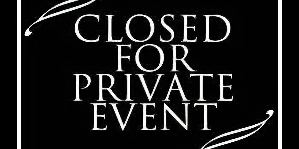 Closed For Brunch - Private Party