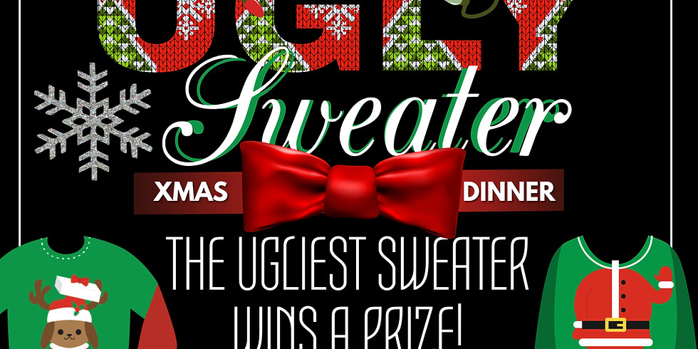 Ugly Sweater Christmas Dinner!