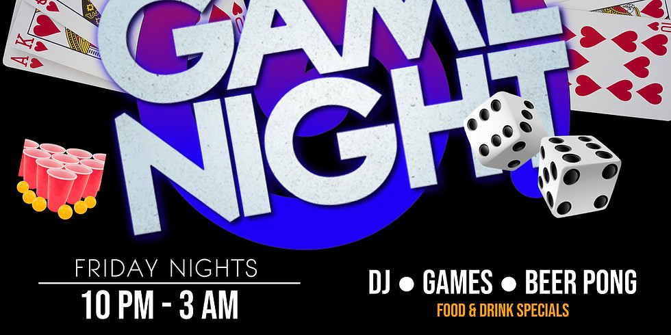 DJ & Game Night