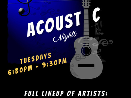 Acoustic Nights @ The Taphouse!