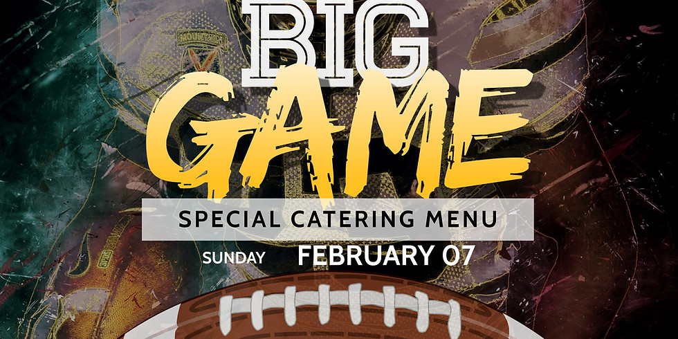 The Big Game Catering