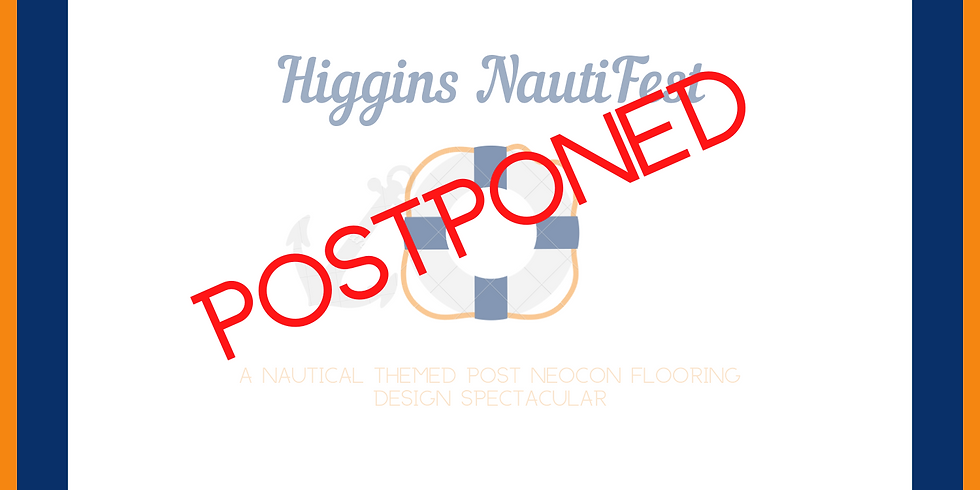 The Higgins team has made the difficult decision to postpone our yearly Post Neocon event due to the current pandemic.