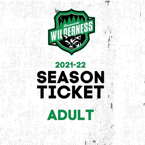 2021-22 Season Ticket - ADULT