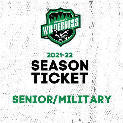 2021-22 Season Ticket - Senior/Military