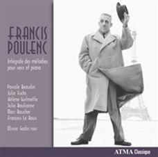 Intégrale des melodies pour voix et piano – Francis Poulenc