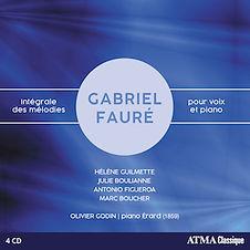 Intégrale des mélodies pour voix et piano - Gabriel Fauré