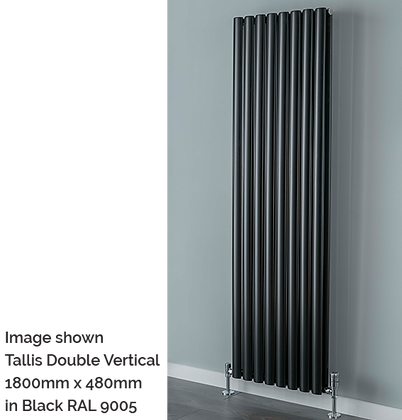 Tallis Single Vertical 1800 x 300 (2119 BTU's)