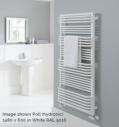 Poll Towel Rail 1480 x 700 (4299 BTU's)
