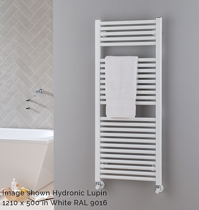 Lupin Electric Towel Rail 1210 x 600 (600 Watts)