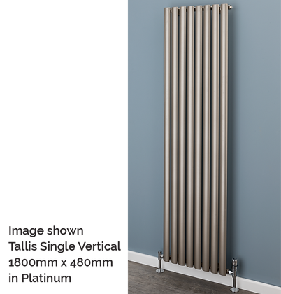 Tallis Double Vertical 1800 x 300 (3207 BTU's)