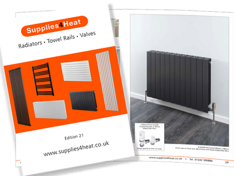 NEW EDITION 21 SUPPLIES4HEAT  BROCHURE RELEASED