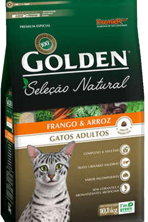 Ração Golden Gatos Seleção Natural 3kg