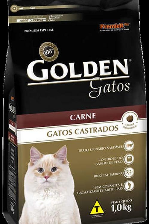 Ração Golden Carne Gatos Castrados 3kg