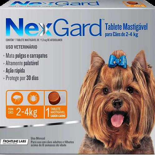 Nexgard 2 à 4 kg