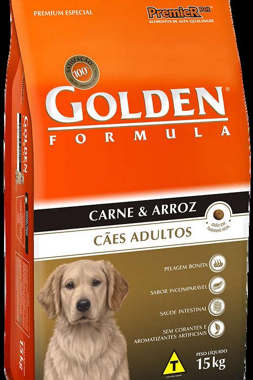 Ração Golden Formula Carne/Arroz 15kg