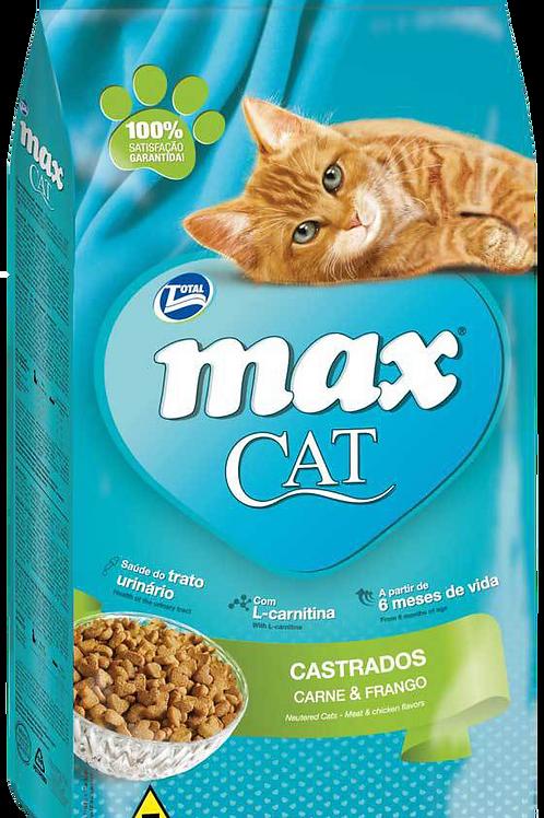 Ração Max Cat Castrado 20kg