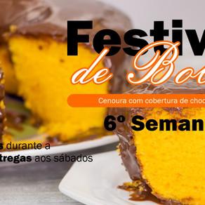 6º Semana do Festival de Bolos