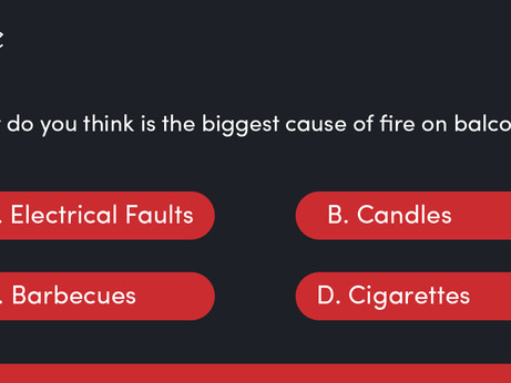 Quiz: Balconies & Fire Safety