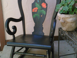 Old Chair Refinished