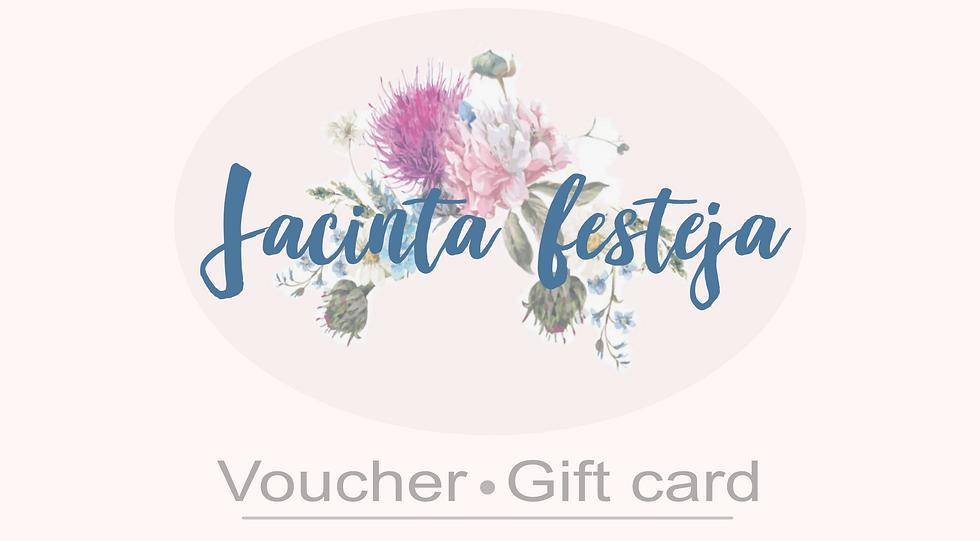 Voucher / Gift card