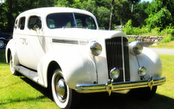 Antique Packard Lands End Limo