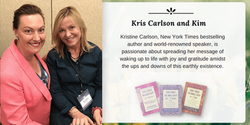 Kristine Carlson and Kim