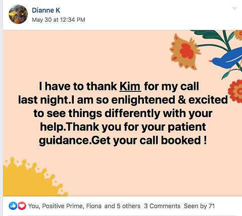 Kim Serafini Coaching feedback