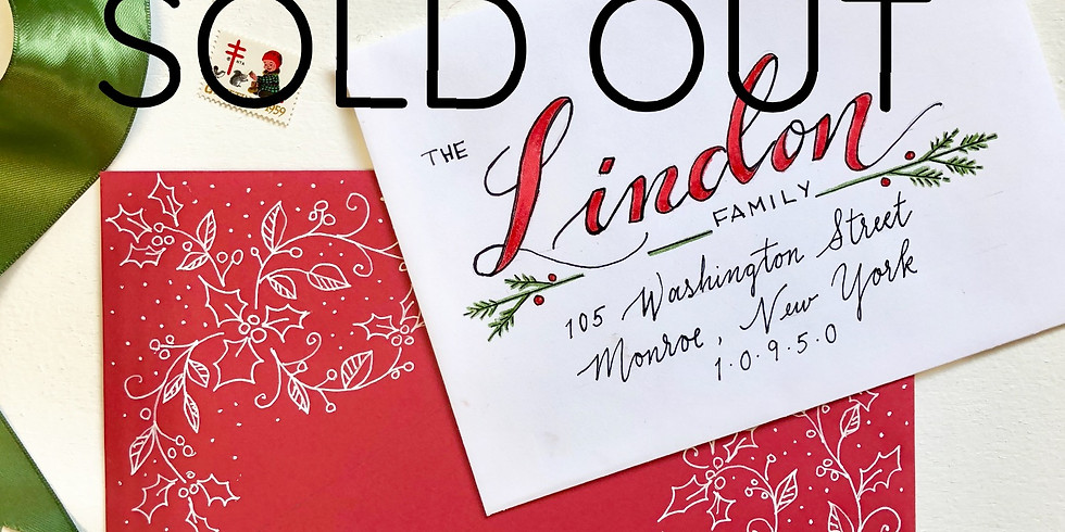 Envelope Art for the Holidays