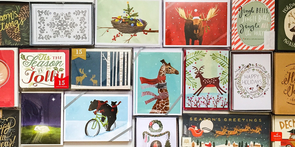 Letter Writing Club:  Holiday Card Edition
