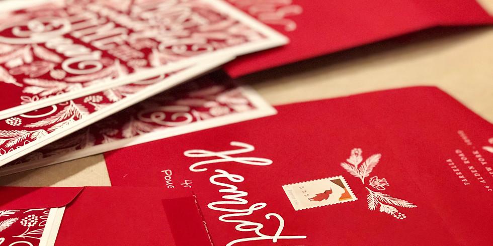 Holiday Card Meet-Up at Merrily