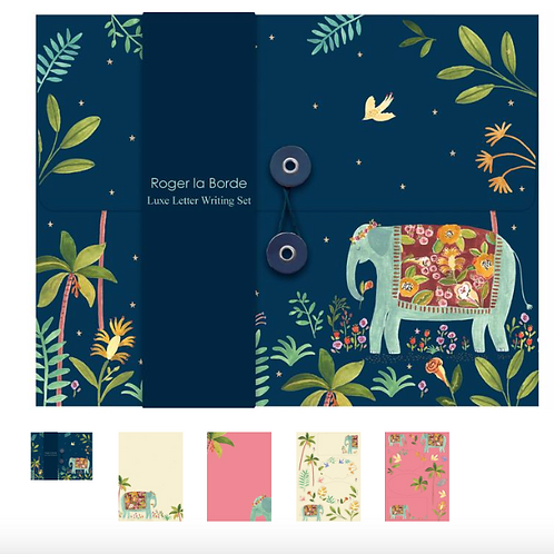 Luxe Letter Writing Set - Elephant