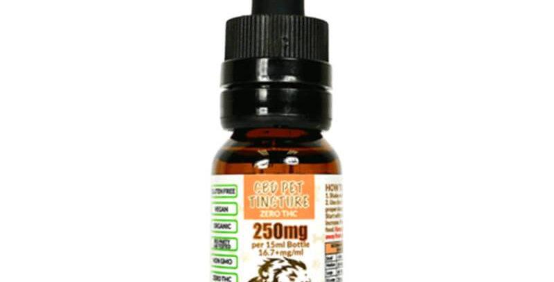 CBD Lion - CBD Pet Tincture - 250mg-500mg