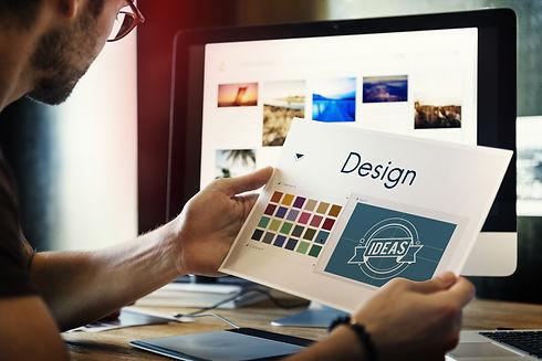 Design Be Creative Inspiration Logo Conc
