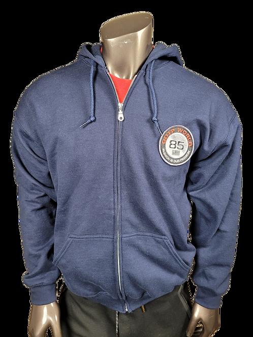 DDTP World 85 Hoodie Jacket - Navy (hoodie only)