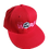 Thumbnail: DDTP World Snapback Hat - Pink Logo on Red