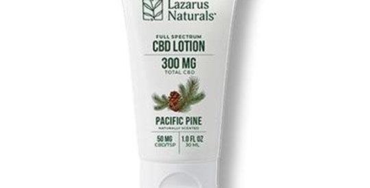Lazarus Naturals - CBD Topical - Pacific Pine Lotion 300mg-2000mg