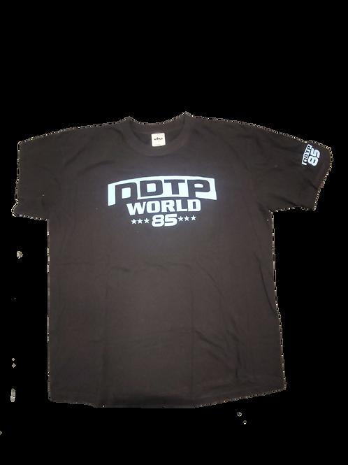 DDTP World 85 Sport Shirt - Blue on Black