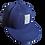 Thumbnail: DDTP World Snapback Hat - Square Logo on Blue