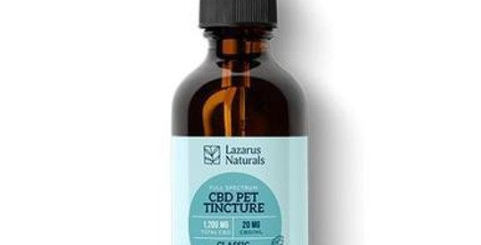 Lazarus Naturals - CBD Pet Tincture - Full Spectrum Classic Calming Formula
