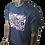 Thumbnail: DDTP World Abstract Shirt - Abstract Design on Navy Blue