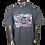 Thumbnail: DDTP World Abstract Shirt - Abstract Design on Charcoal