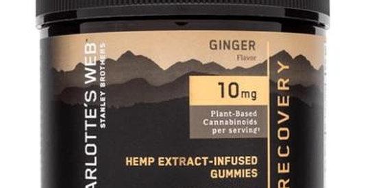 Charlottes Web - CBD Edible - Recovery Hemp Extract Gummies - 10mg