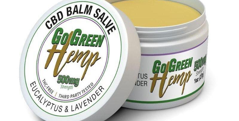 GoGreen Hemp CBD Balm Salve Eucalyptus & Lavender