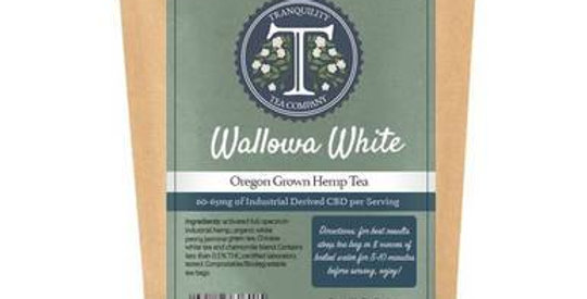 Tranquility Tea Company - CBD Tea - Wallowa White - 600mg-650mg