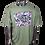 Thumbnail: DDTP World Abstract Shirt - Abstract Design on Broccoli Green